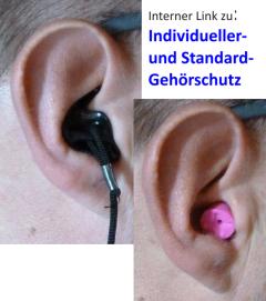 Individueller Gehörschutz, Standardgehörschutz